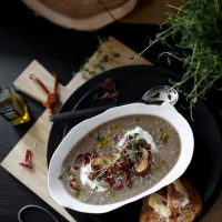 CREAMY MUSCHROOM SOUP