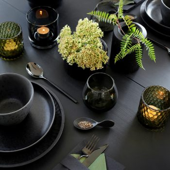 MASCULINE TABLE SETTING